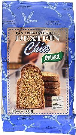 Santiveri Pan Dextrin Con Chia - 300 g: Amazon.es: Alimentación y ...