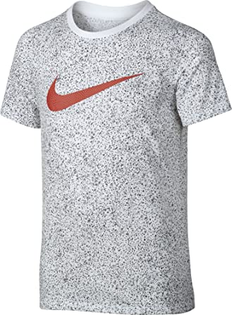 Nike B Nk Dry tee SS Camiseta de Manga Corta de Baloncesto, Niños ...