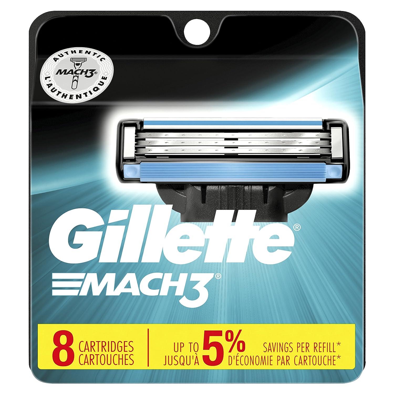 Gillette Mach3 Refill Cartridges, 8 Count