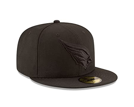 0548173ee28 Amazon.com   New Era NFL Men s Black On Black 59Fifty Fitted Cap   Sports    Outdoors