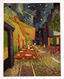 ポスター ゴッホ/夜のカフェテラス おしゃれ 世界の名画 フィンセント・ウィレム・ファン・ゴッホ 36cm×47cm MAG02