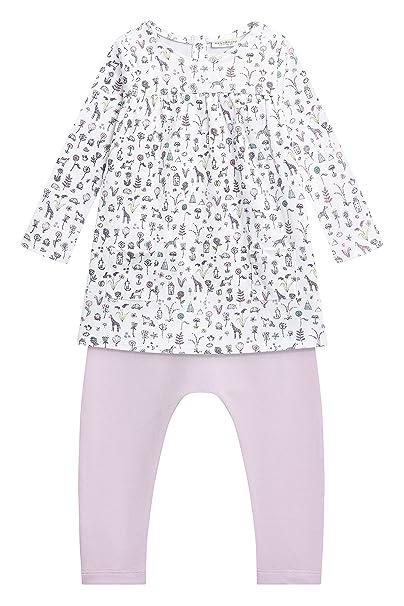 next Bebé-Niñas Juego De Leggings Y Vestido con Diseño Estampado (0 Meses -