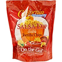 California Creamery On-The-Go Salsa Dip and Tortilla Chips, 291g