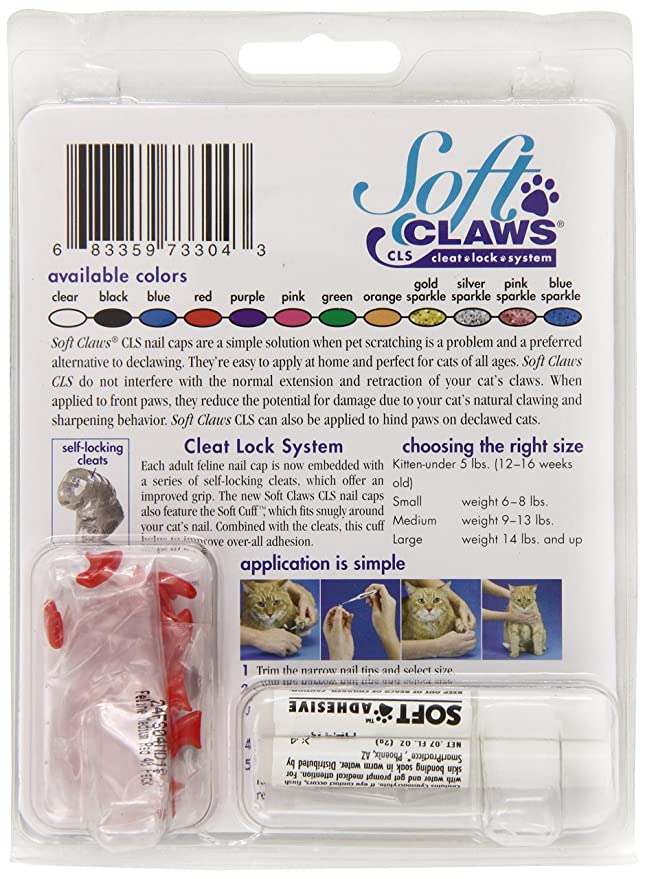 Amazon Soft Claws For Cats Cls Cleat Lock System Size