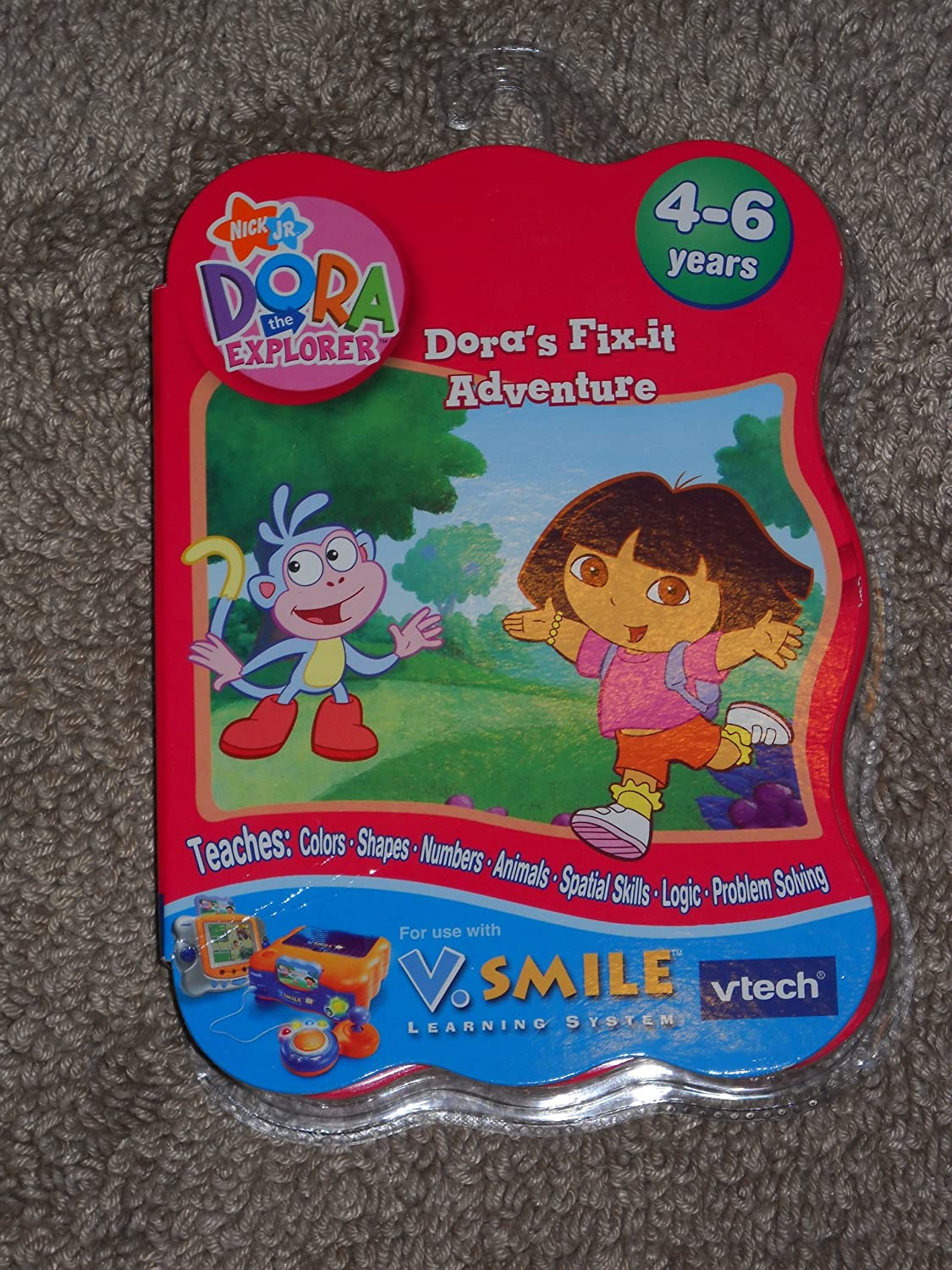 mejor reputación DORA THE EXPLORER DORA'S FIX-IT ADVENTURE AGES AGES AGES 4-6 YEARS  Web oficial