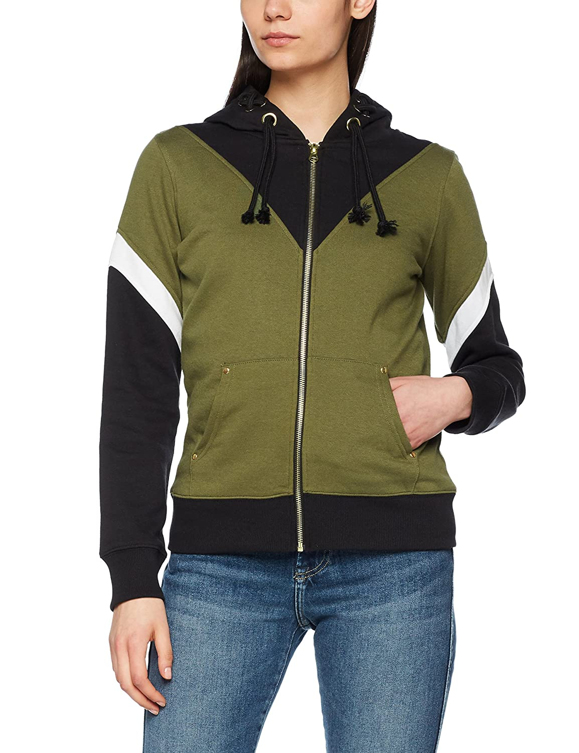 TALLA S. Women's Zelda Crest of Hyrule Zip Up Hoodie