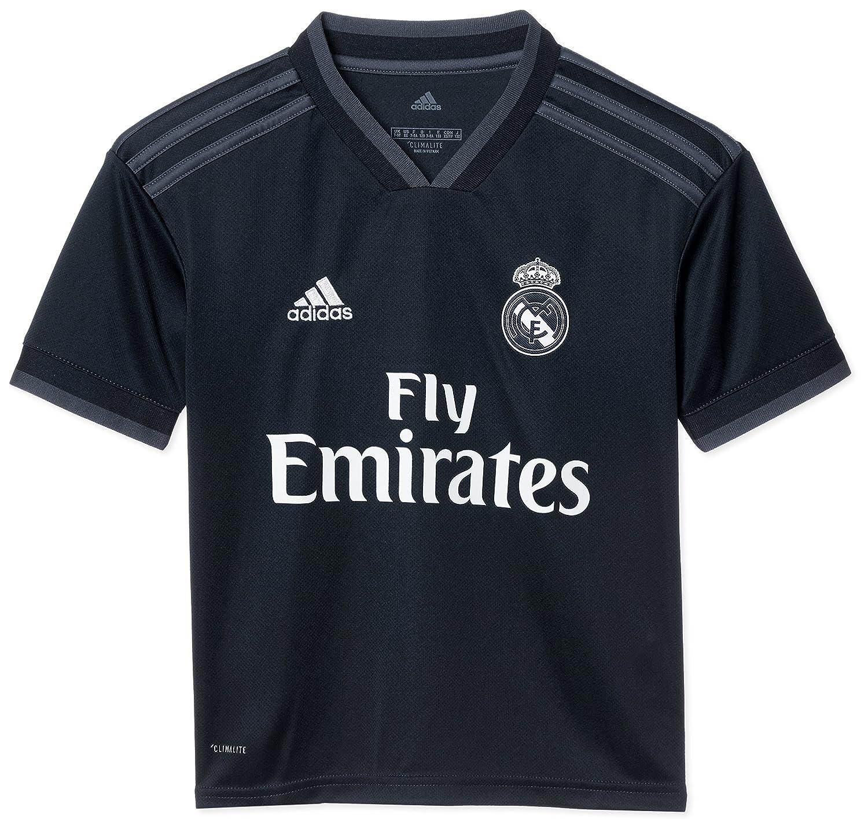 adidas Real Madrid Exterior - Camiseta de fútbol Infantil: Amazon.es: Deportes y aire libre