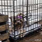 """Paws & Pals 20"""" Wire Metal Cage Pet Cat/Dog Single"""