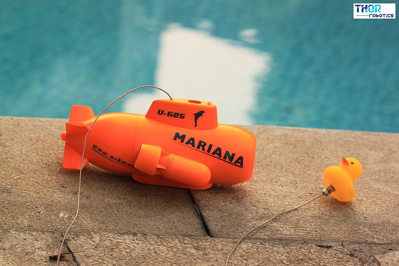 ThorRobotics Drone subacuático de Mariana RC Mini UAV Underone con ...