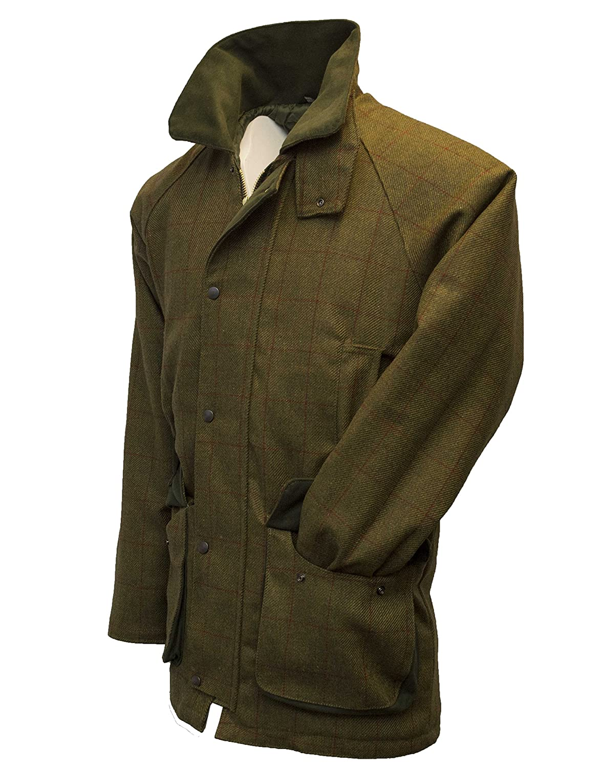 3XL Walker & HawkesMens Derby Tweed Shooting Hunting Country JacketRed Stripe