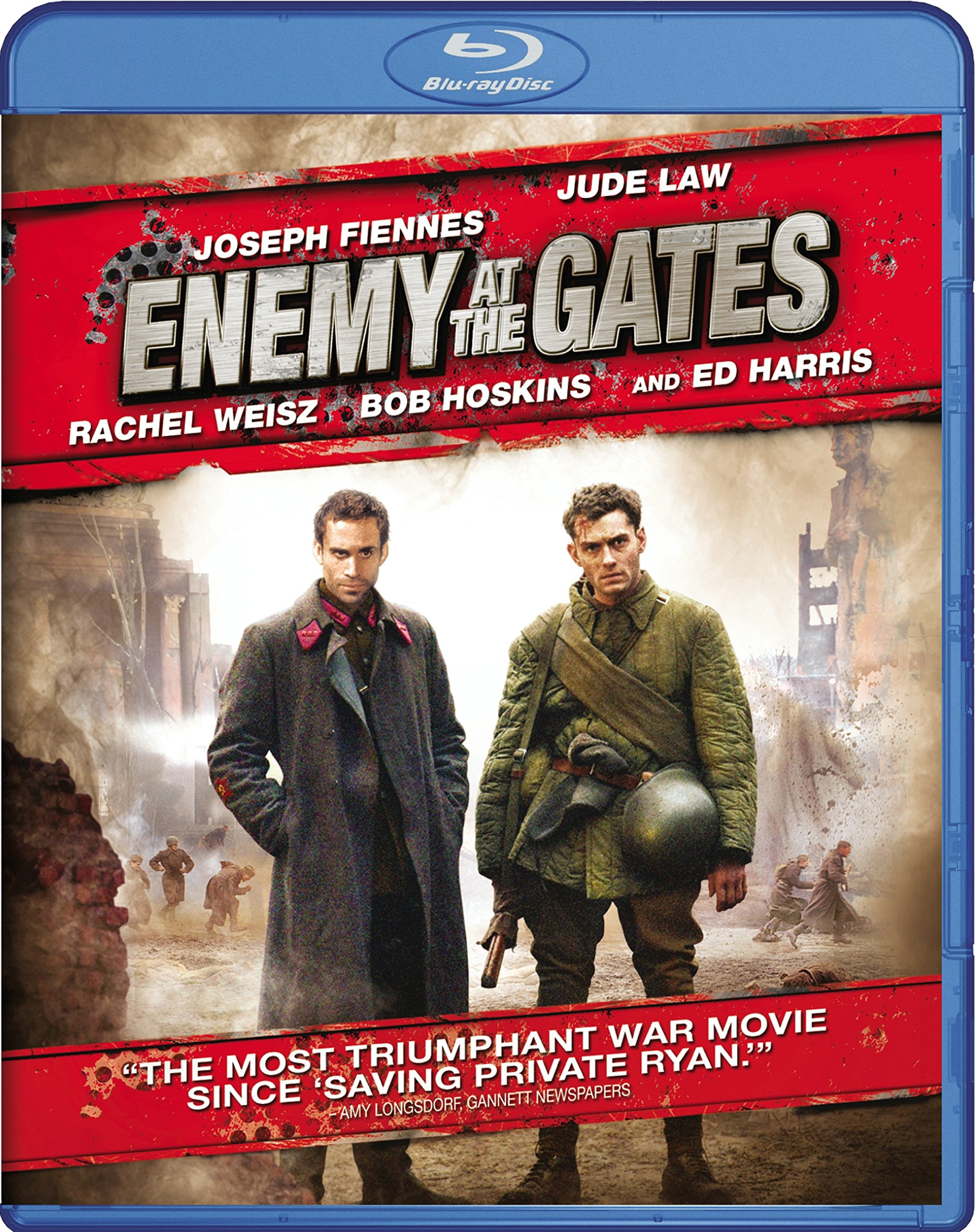 Blu-ray : Enemy at the Gates (Widescreen, Dolby, AC-3, Dubbed, )