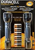 Duracell Durabeam Ultra 700 Heavy-Duty LED Flashlight, 2-Pack