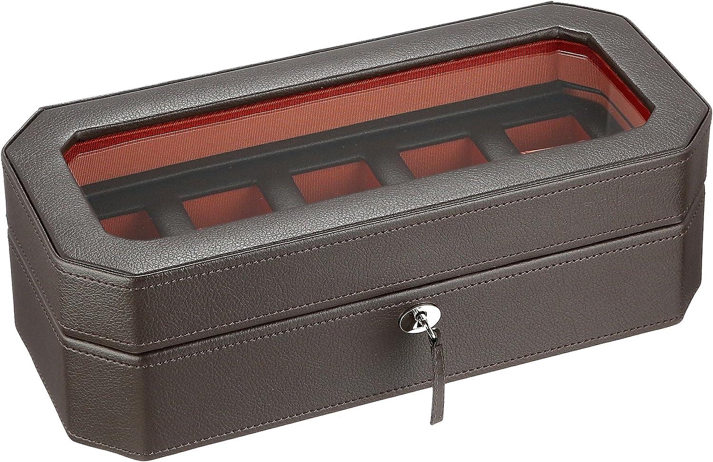 WOLF Windsor 5 Piece Watch Box