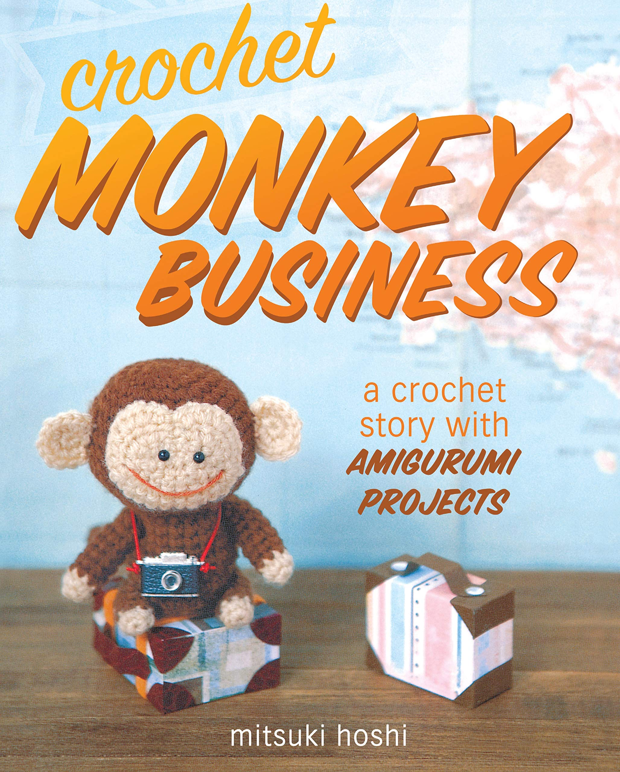 Free tiny monkey crochet pattern - Amigurumi Today | 2560x2055
