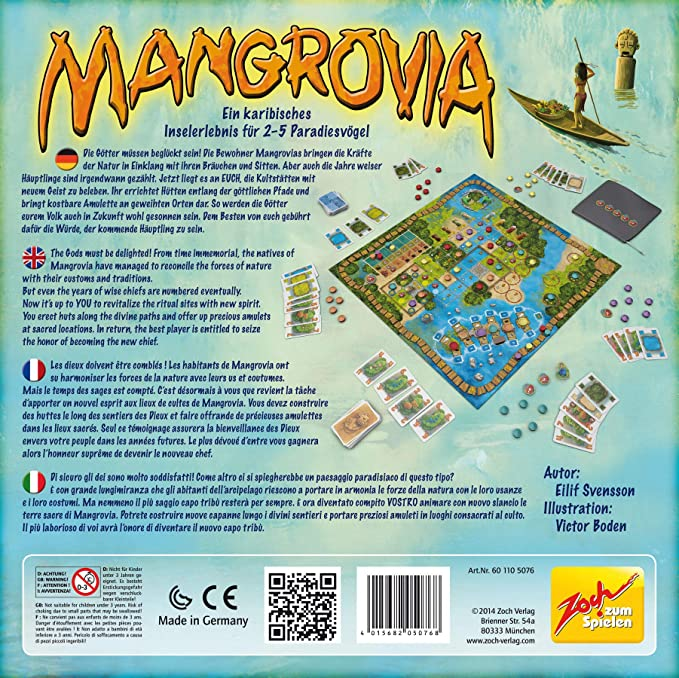 Noris Spiele Zoch 601105076 - Mangrovia, Juego de Mesa: Amazon.es: Juguetes y juegos