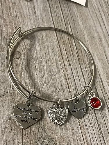 Amazoncom Personalized Best Friend Birthstone Charm Bracelet Not