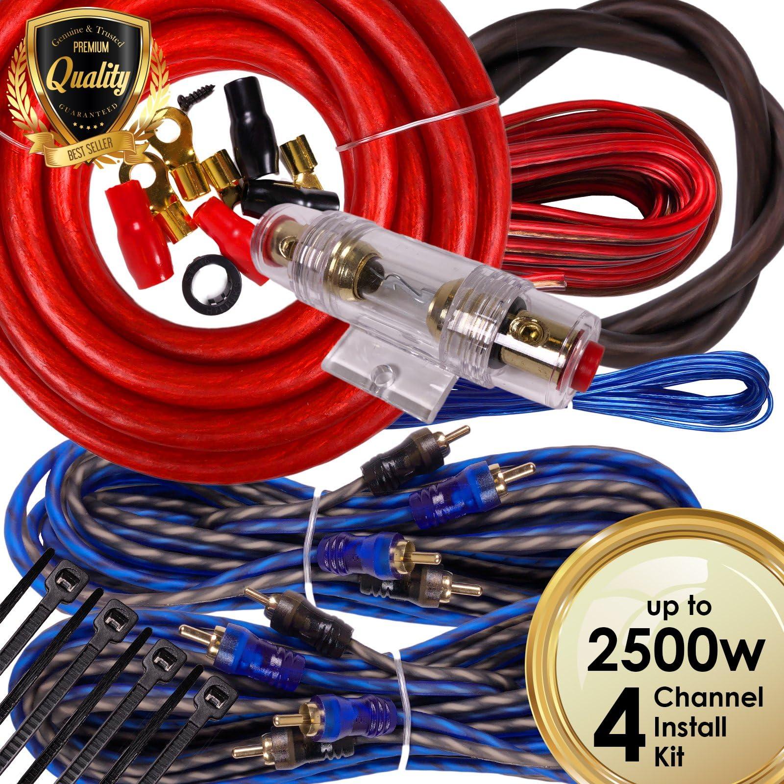 images na ssl images amazon com images i 918hkzsrh rh amazon com car amplifier wiring kit price in india car amp wiring kit