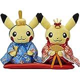 Pokemon Center Original Plush Toy Monthly Pair Pikachu 2017 March