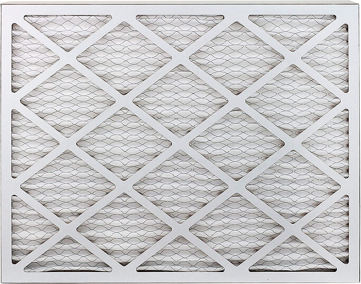 FilterBuy AFB MERV 8 20x25x1 Pleated AC Furnace Air Filter, 20x25x1 Silver Pack of 4 Filters Renewed