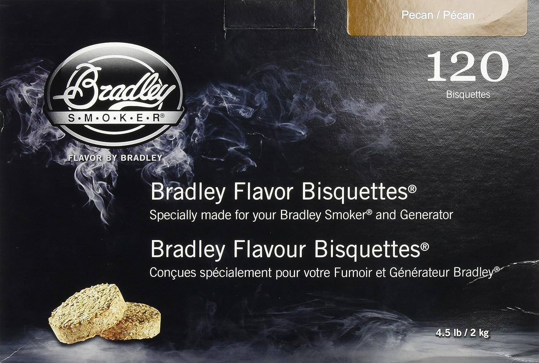 Bradley Smoker BTPC120 Pecan Bisquettes 120 pack