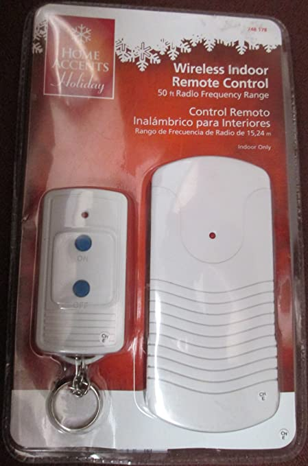Amazon.com: Wireless Indoor Remote Control 50 Ft Radio Frequency Range Controls Lamps and Holiday Lighting: Kitchen & Dining