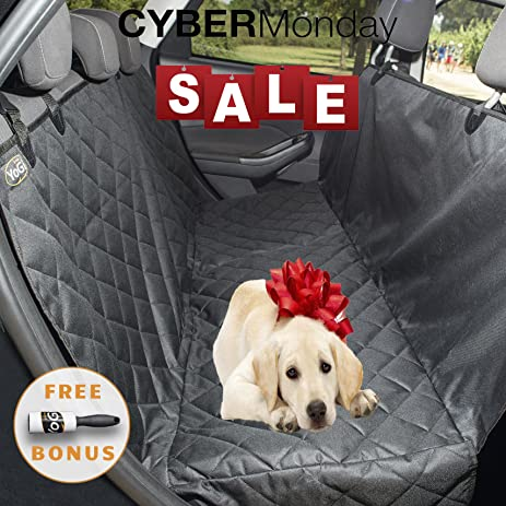 Amazon.com : Cyber Monday - Set of 3-Dog seat covers for cars - 2017 ...