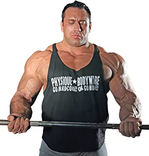 product image for Physique Bodyware Men's Go Hardcore Y Back Tank Top. Seen in The Movie Pain & Gain