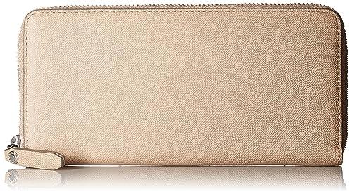 Ecco - Iola Large Zip Wallet, Carteras Mujer, Beige (Dune), 2.5