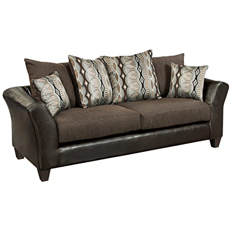 Flash Furniture Riverstone Rip Sable Chenille Sofa