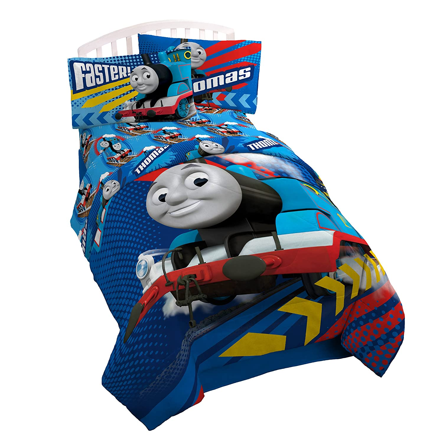 Avengers bedding twin - Amazon Com Thomas The Tank Engine Faster Twin Full Comforter Home Kitchen