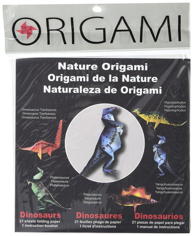 Piegare ' Ems Origami carta 6'x 6' dinosauri pezzi-21 Yasutomo 201128