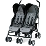 Chicco Echo Twin Stroller, Coal