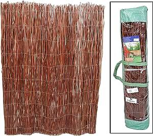 thesecrethome.es Valla OCULTACIÓN Mimbre Natural 3 x 1 m para JARDÍN O TERRAZA: Amazon.es: Hogar