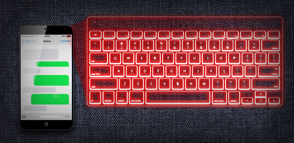 Amazon.com: Hologram keyboard 3D: Appstore for Android