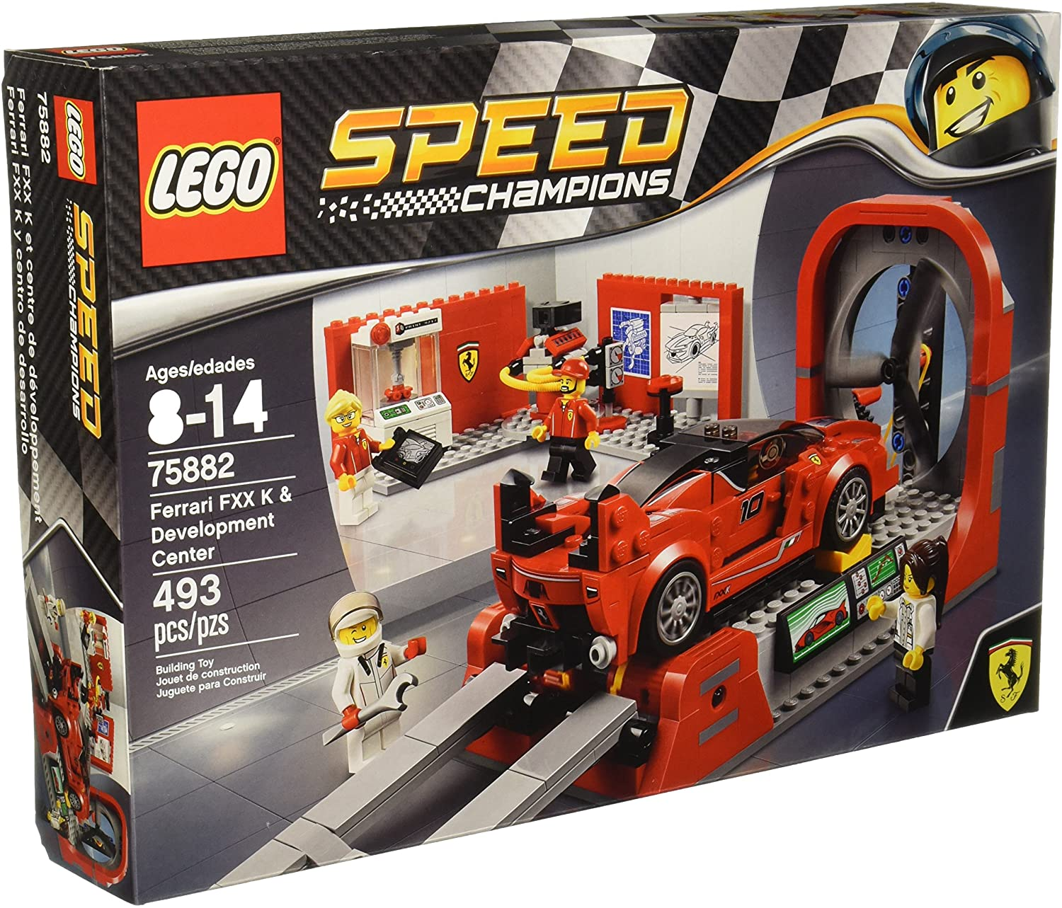 LEGO Speed Champions Ferrari FXX K & Development 75882