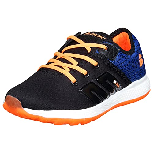 4936c95c393 Duke Mens Black Orange Sports Shoes  Buy Online at Low Prices in India -  Amazon.in