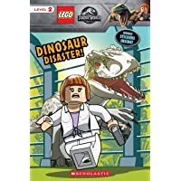 Dinosaur Disaster! (LEGO Jurassic World: Reader with Stickers)