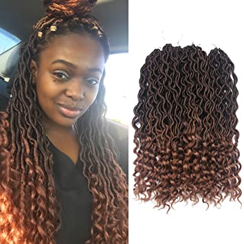 Amazon Com African Hair Braiding Goddess Faux Locs Crochet Hair