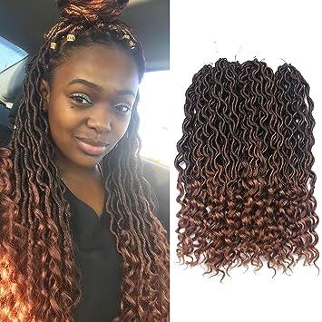 amazon com african hair braiding goddess faux locs crochet hair
