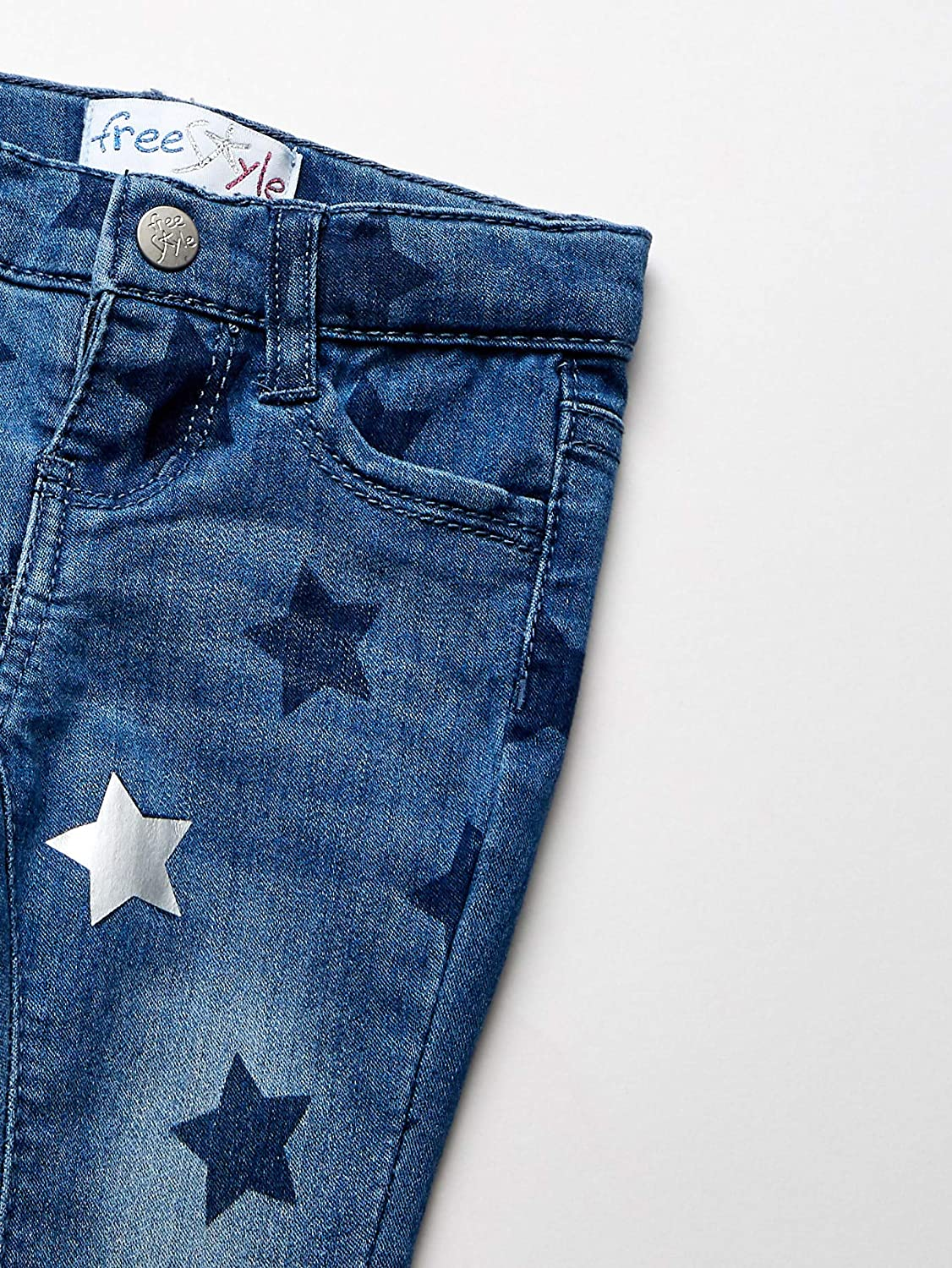 Freestyle Revolution Girls Stars Perfect Wash Jeggings