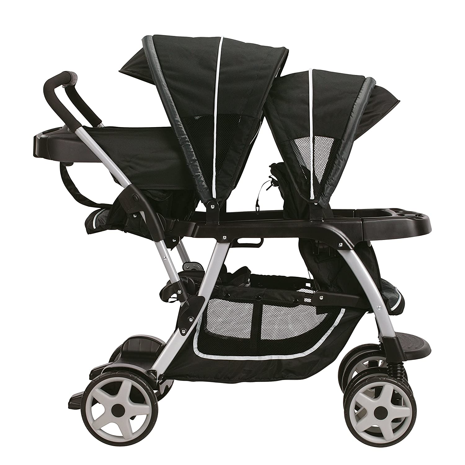 Amazon Graco Ready2grow Connect Double Stroller Gotham Discontinued by Manufacturer Baby