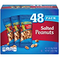 Deals on 48-Pack Planters Salted Peanuts 1oz Bags