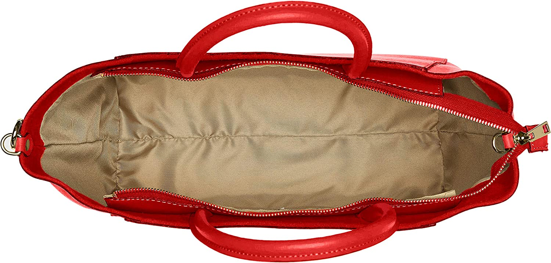 Chicca Borse Cbc3302tar, Borsa a Spalla Donna, 15x29x42 cm (W x H x L) Rosso