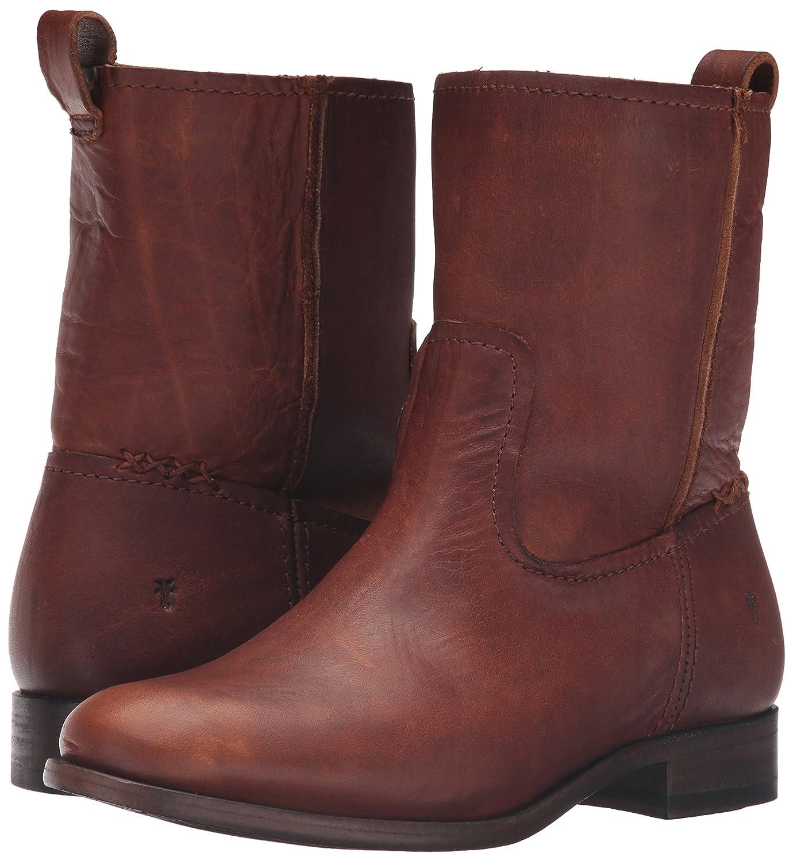 FRYE Boot Women's Cara Short Leather Boot FRYE B01AA7WQN6 6.5 B(M) US Cognac bcc9e1