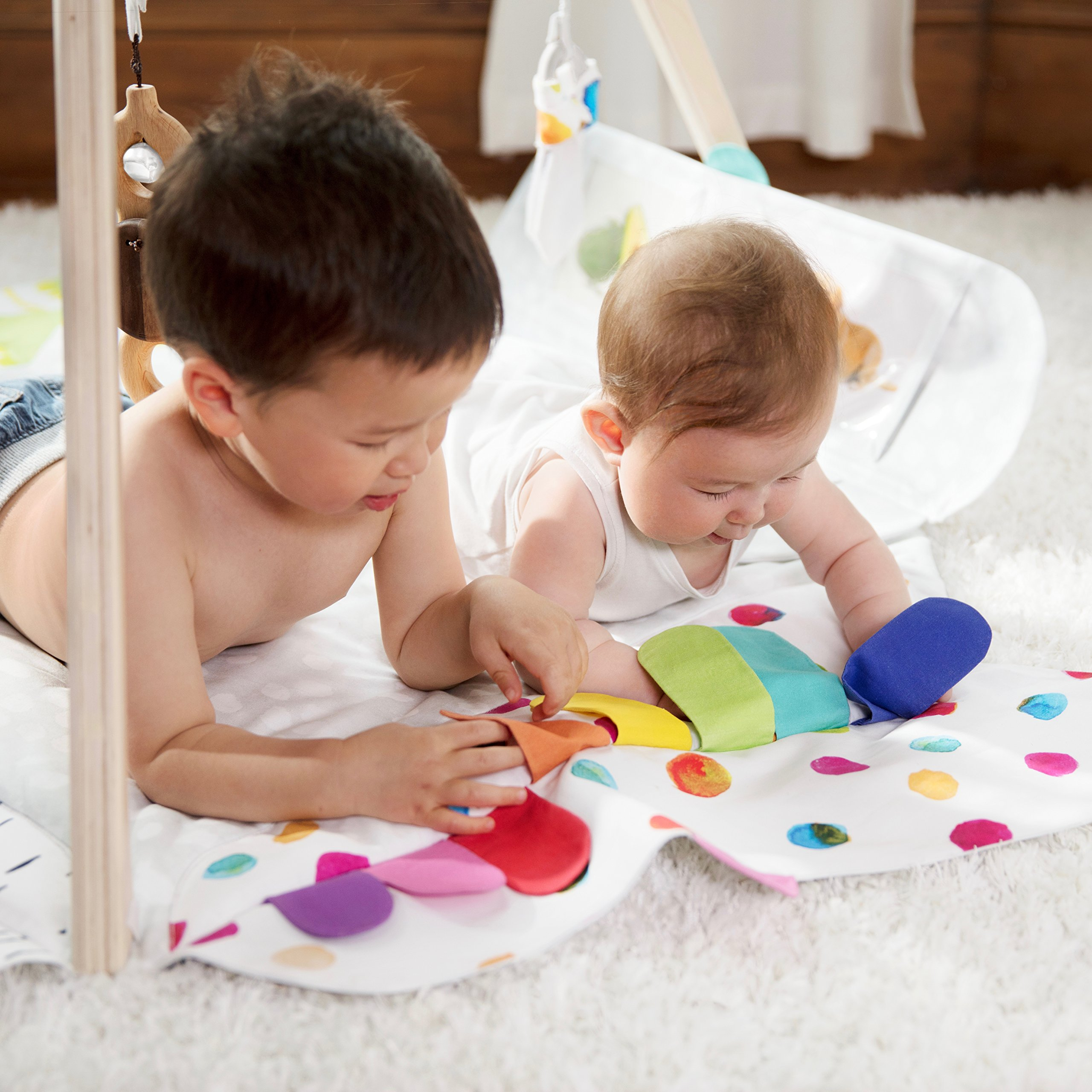 The Play Gym by Lovevery; Stage-Based Developmental Activity Gym & Play Mat for Baby to Toddler by Lovevery (Image #6)