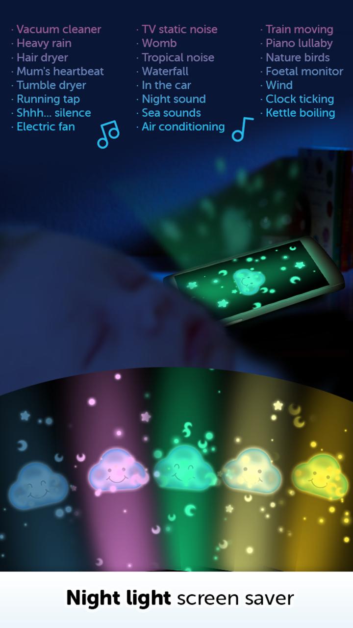 Amazoncom Baby White Noise Babies Relaxing Sleep Sounds Music