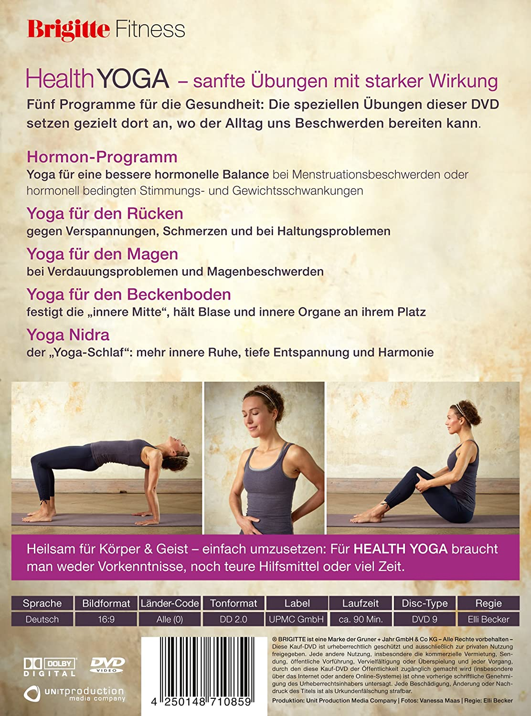 Brigitte Fitness - Health Yoga: Fünf Programme für die Fitness ...