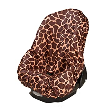 Amazon.com: Wupzey Car Seat Cover, Orange Giraffe: Baby