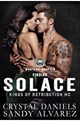 FINDING SOLACE (Kings of Retribution MC Book 3) Kindle Edition