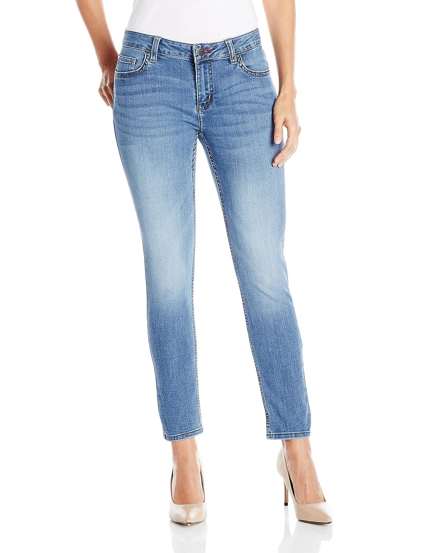 363b71c64fd06 Wrangler Women's Mid Rise Denim Legging at Amazon Women's Clothing store: